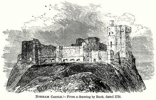 Norham Castle. Illustration from The Comprehensive History of England (Gresham Publishing, 1902).