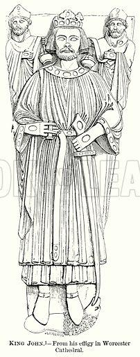 King John. Illustration from The Comprehensive History of England (Gresham Publishing, 1902).
