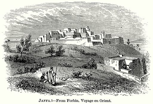 Jaffa. Illustration from The Comprehensive History of England (Gresham Publishing, 1902).