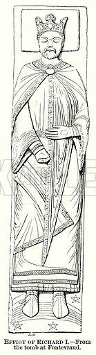 Effigy of Richard I. Illustration from The Comprehensive History of England (Gresham Publishing, 1902).