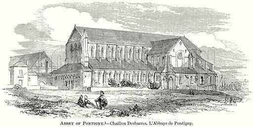 Abbey of Pontigny. – Chaillou Desbarres, L'Abbaye de Pontigny. Illustration from The Comprehensive History of England (Gresham Publishing, 1902).