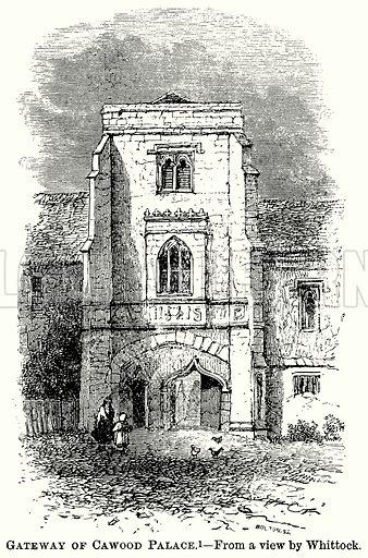 Gateway of Cawood Palace. Illustration from The Comprehensive History of England (Gresham Publishing, 1902).