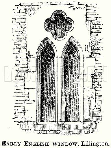 Early English Window, Lillington. Illustration from The Comprehensive History of England (Gresham Publishing, 1902).