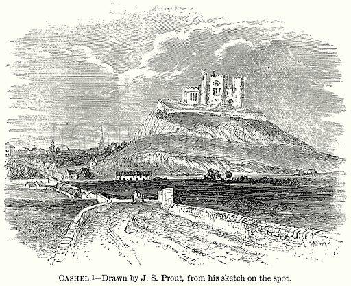 Cashel. Illustration from The Comprehensive History of England (Gresham Publishing, 1902).