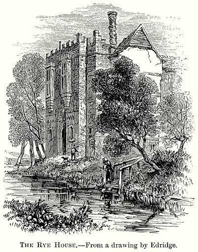 The Rye House. Illustration from The Comprehensive History of England (Gresham Publishing, 1902).