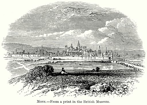 Mons. Illustration from The Comprehensive History of England (Gresham Publishing, 1902).