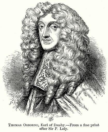 Thomas Osborne, Earl of Danby. Illustration from The Comprehensive History of England (Gresham Publishing, 1902).