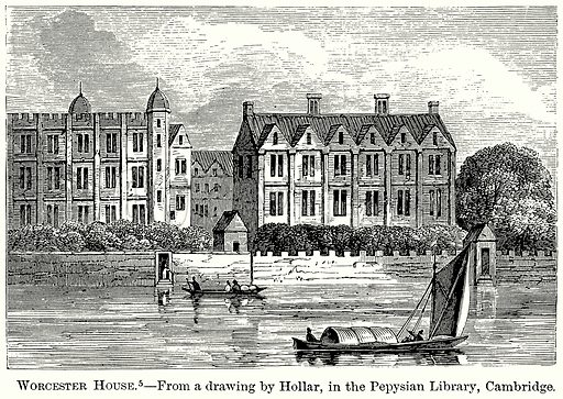 Worcester House. Illustration from The Comprehensive History of England (Gresham Publishing, 1902).