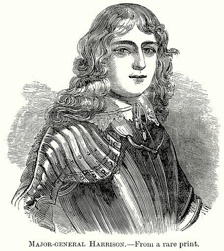 Major-General Harrison. Illustration from The Comprehensive History of England (Gresham Publishing, 1902).