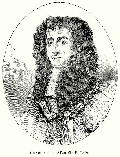 Charles II. Illustration from The Comprehensive History of England (Gresham Publishing, 1902).