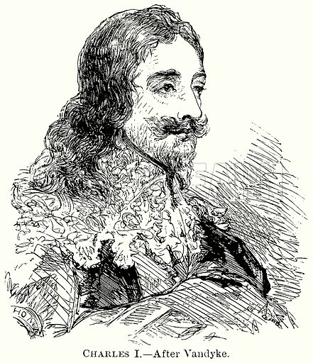 Charles I. Illustration from The Comprehensive History of England (Gresham Publishing, 1902).