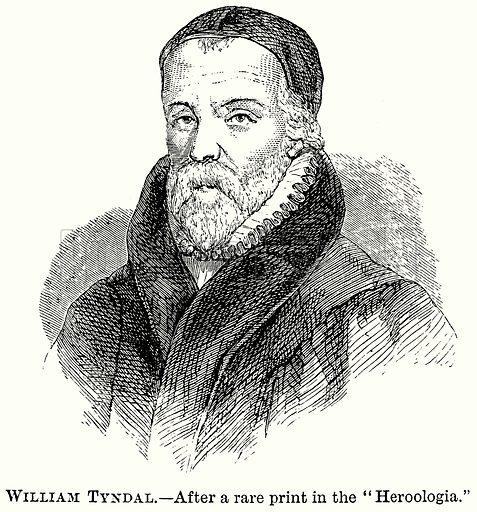 William Tyndal. Illustration from The Comprehensive History of England (Gresham Publishing, 1902).