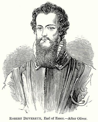 Robert Devereux, Earl of Essex. Illustration from The Comprehensive History of England (Gresham Publishing, 1902).