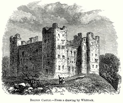 Bolton Castle. Illustration from The Comprehensive History of England (Gresham Publishing, 1902).
