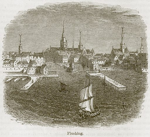 Flushing. Illustration from The Boy's Own Volume (Beeton, c 1860).