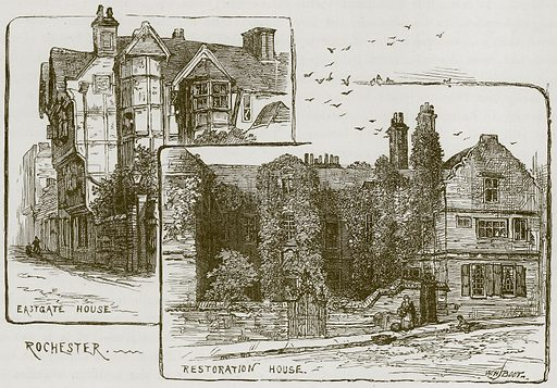 Rochester. Illustration from Our Own Country (Cassell, c 1870).