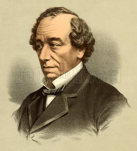Disraeli, picture, image, illustration