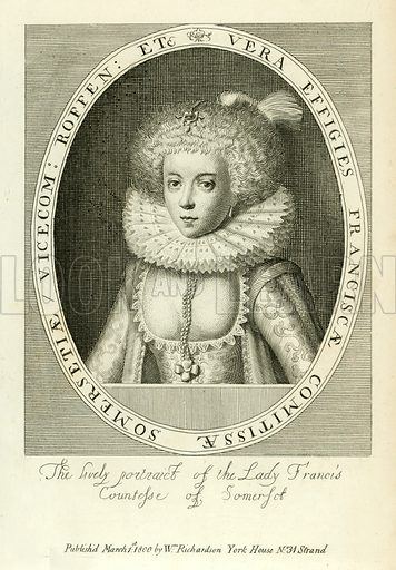 Countess of Somerset, picture, image, illustration