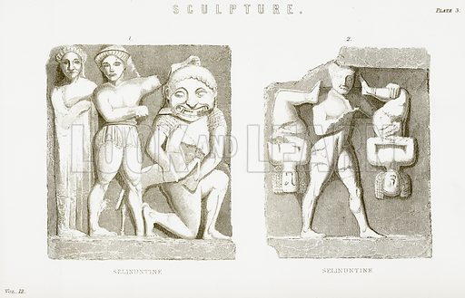 Sculpture. Illustration from The National Encyclopaedia (William Mackenzie, c 1900).