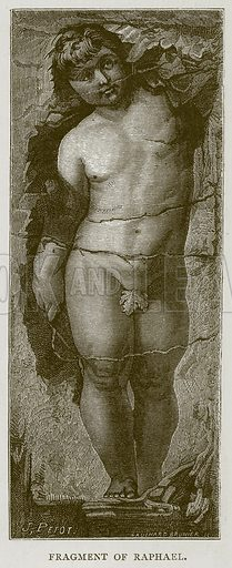 Fragment of Raphael. Illustration for Rome by Francis Wey (Chapman and Hall, 1875).