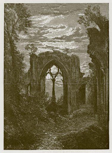 The Fairies' Farewell. Illustration for Old English Ballads (Ward Lock, 1864).