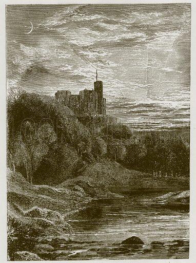 The Child of Elle. Illustration for Old English Ballads (Ward Lock, 1864).