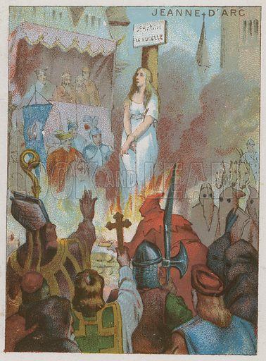 Joan of Arc, picture, image, illustration