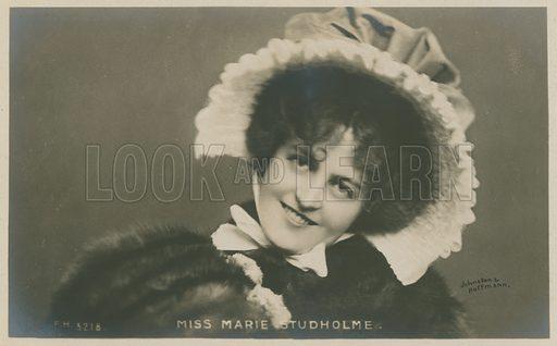 Miss Marie Studholme.