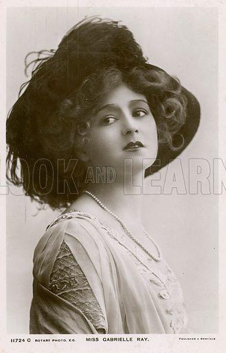 Miss Gabrielle Ray.