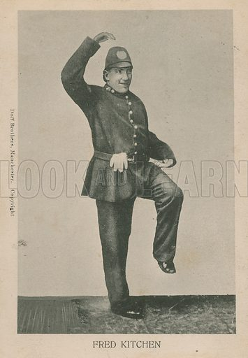 Fred Kitchen, dancing policeman.