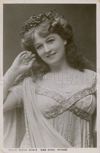 Miss Ethel Haydon.