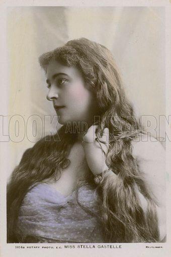 Miss Stella Gastelle.