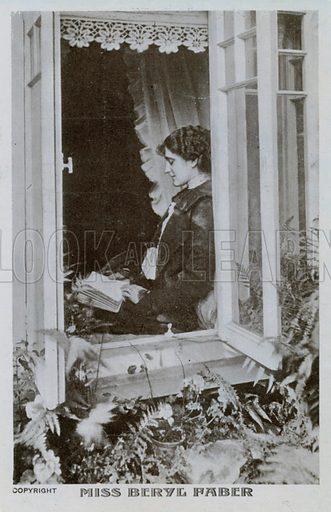 Miss Beryl Faber.