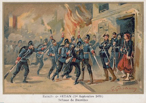 Battle of Sedan, picture, image, illustration