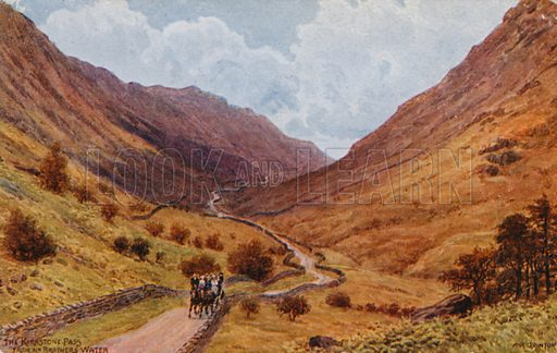 The Kirkstone Pass, near Brothers Water.