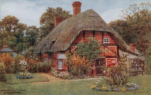 Arts Guild Cottage, Brockenhurst.