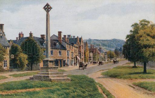 Memorial Cross, Broadway, Worcestershire.