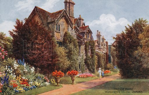 The Cottages, Worcester College, Oxford.