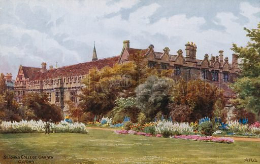 St John's College Garden, Oxford.