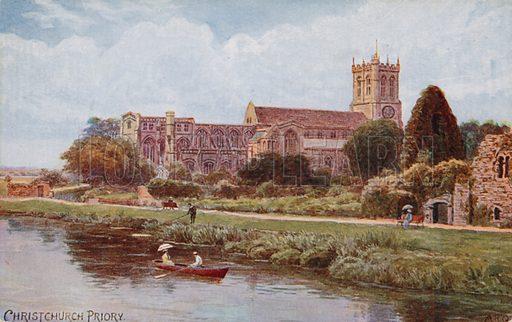 Christchurch Priory.