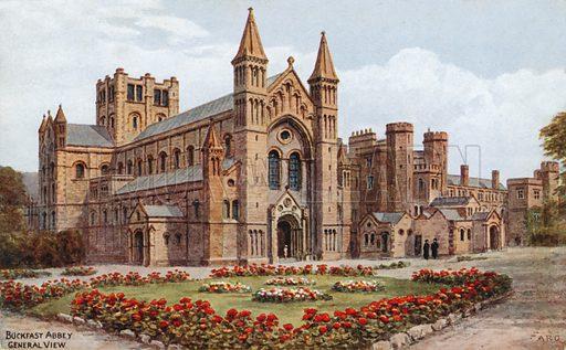 Buckfast Abbey. General View.