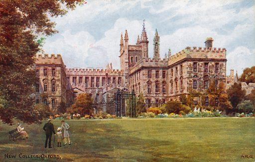 New College, Oxford.