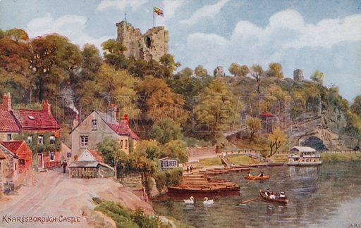 Knaresborough Castle.
