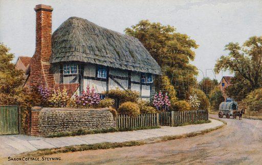 Saxon Cottage, Steyning.