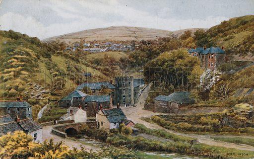 Boscastle Village.