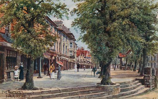 The Pantiles, Tunbridge Wells.