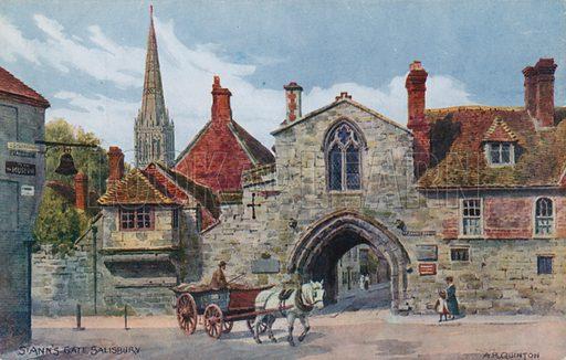 St Ann's Gate, Salisbury.