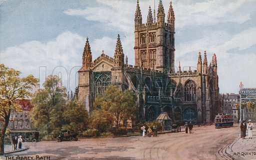 The Abbey, Bath.