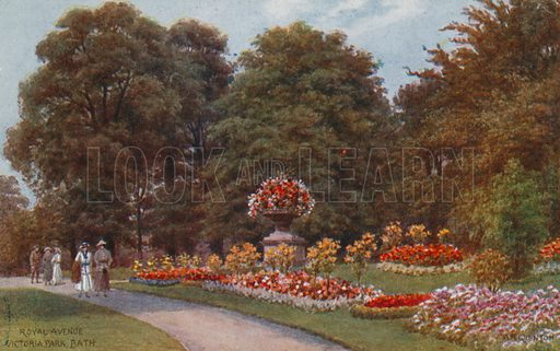 Royal Avenue, Victoria Park, Bath.