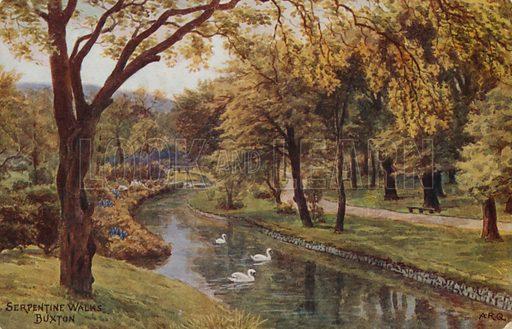 Serpentine Walks, Buxton.